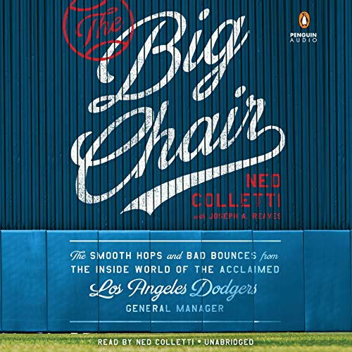 The Big Chair audiobook cover art