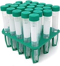 لوله های سانتریفیوژ مخروط SPL 15 میلی لیتری استریل شده با قفسه های PP ، (قفسه 25) غیر پیروژنیک ، غیر سیتوتوکسیک ، DNase / RNase ، بدون DNA از انسان