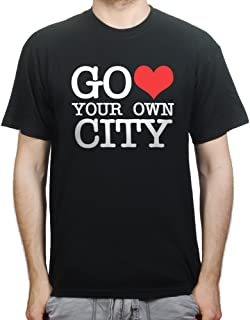 Go Heart Love Your Own City New York T-shirt Black 3XL
