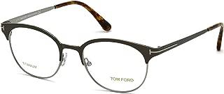 Tom Ford FT5382 Eyeglasses 50-19-145 Anthracite Opal 009 FT 5382 For Men