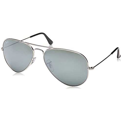 b33a2bddd2 Ray-Ban Classic Aviator Sunglasses Silver Mirror