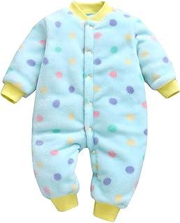 LANSKIRT_Ropa de bebé, Bodies Bebe Manga Larga, Lanskirt Ropa Bebe Niña Monos de Verano para 3M-18M Bebé Recién Nacido Bebé Niñas Niños Dibujos Animados Estampado de Leopardo Mono Mameluco