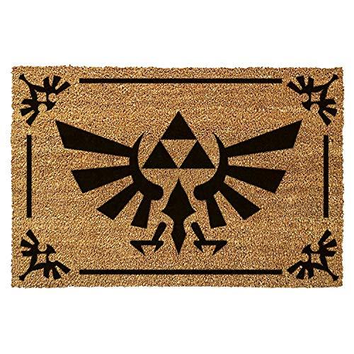 The Legend of Zelda Triforce Logo Brown