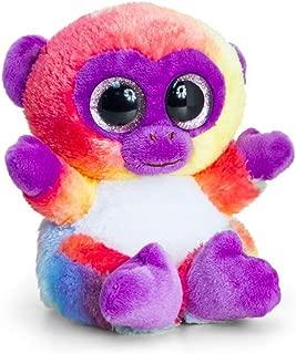 Keel Toys 15 cm Animotsu Rainbow Monkey Stuffed Toy