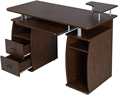 Amazon Com Complete Computer Workstation Desk With