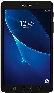 "Samsung Galaxy Tab A 7""; 8 GB Wifi Tablet w/ 16GB Micro SD Bundle (Black) SM-T280NZKMXAR (US Warranty) (Renewed)"