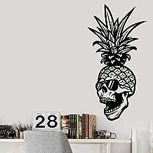 JXWH Creatieve stickers doodshoofd skelet ananas v...