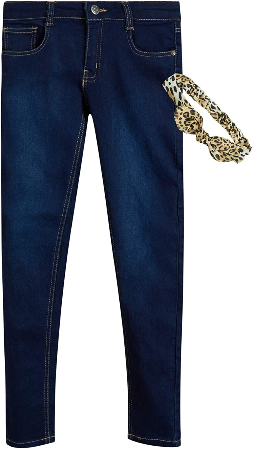 dELiAs Challenge the lowest price Girl's Jeans - Stretch Gift Scr Headband with Trust Denim