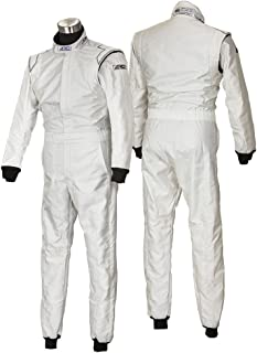 ARD レーシングスーツ ARD-024 Progear UZ-DW Mワイドサイズ/ホワイト 【FIA公認】