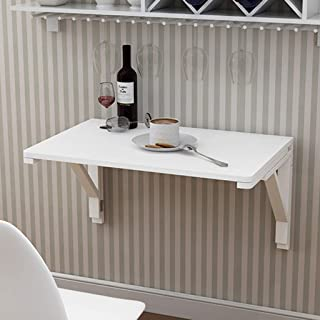 JHSHENGSHI Table à abattant Murale, Table de Salle à Manger Pliante pour Cuisine, Bureau pour Enfants, Meubles de Bureau à...