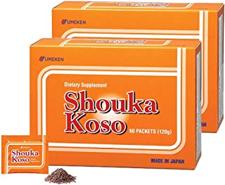 2X Umeken Shouka Koso - Digestive Enzymes from Fermented Vegetables and Grains. Made in Japan. 120 Packets.