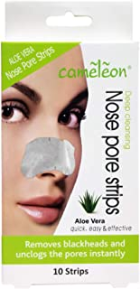 Cameleon Nose Pore and Blackhead Removel Strips,10 Strips