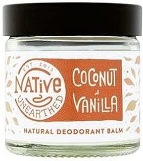 Native Unearthed Natural Deodorant Balm Coconut & Vanilla 2.11 fl oz