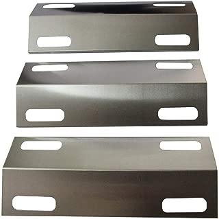 Hongso SPI351 (3-Pack) Stainless Steel Heat Plate for 3 Burner Ducane Affinity 3100 3200 3400(15 3/8