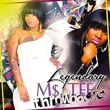Legendary M$.Tee Throw Backs