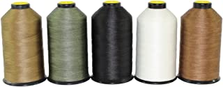 (69-240ml Spool, Black) - SGT KNOTS Mil Spec Bonded Nylon Sewing Thread - Made in USA - Several Colours (69 240ml Spool - ...