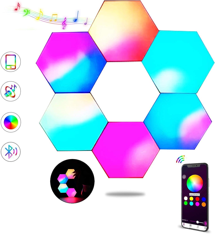Hexagon LED San Antonio Mall Lights APP Control Smart wit Panels Max 65% OFF Light Sync Wall