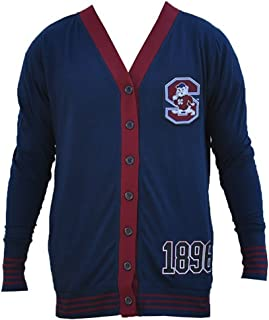 South Carolina State Cardigan Sweater Fraternity Black College HBCU Mens Big & Tall Sizes Also Available