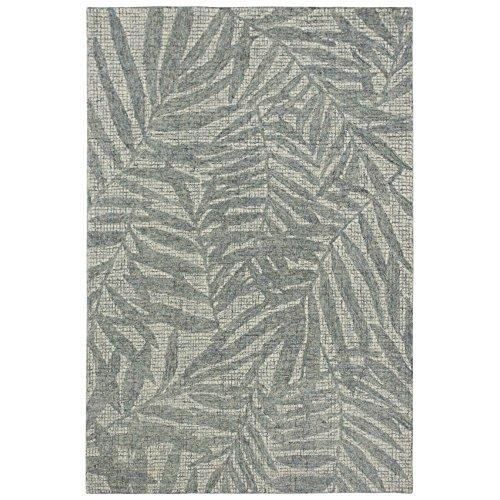 Liora Manne Savannah Olive Branches Pastel Indoor Wool Rug, 5' X 7'6