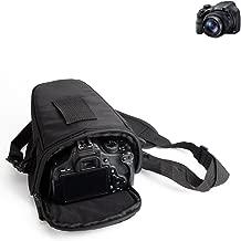 K-S-Trade For Sony Cyber-shot DSC-HX350  SLR should bag camerabag Colt design Rainproof Anti-shock DSLR DSLM SLR  Bridge etc  black  TM