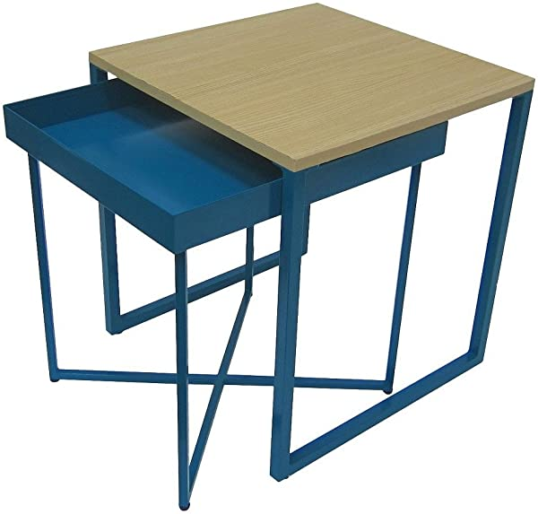 Room Essentials Accent Table Nesting Tables Blue 14698334
