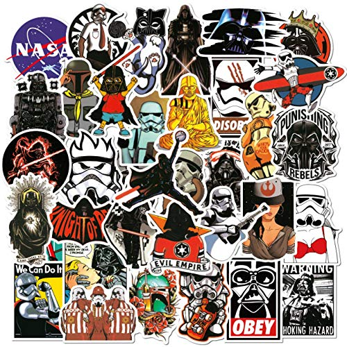 N-brand 100 Star Wars Graffiti Stickers Car Motorcycle Skateboard Computer Notebook Waterproof Stickers
