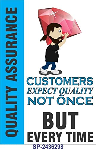 SignageShop Sp-2436298 Quality Assurance Poster Poster
