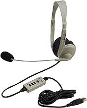 califone stereo usb headset
