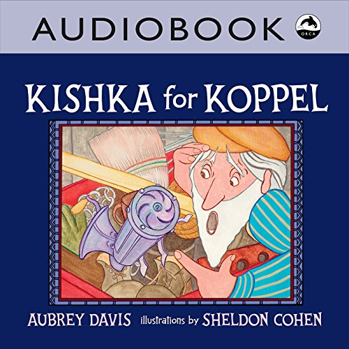 Kishka for Koppel audiobook cover art
