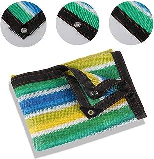 adecuada para privacidad resistente a los rayos UV protección solar múltiples tamaños pue toldos Lona alquitranada Red de protección lona de lona de lona de lona toldos malla protectora solar