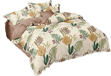 TOUCAN Microfiber Filled Glace Cotton AC Comforter/Duvet/ Quilt/ Blanket for Double Bed (Light Yellow)