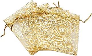 gold bags for wedding favors