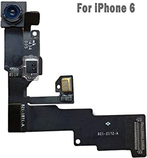 UTechZH 1.2MP Facing Front Camera Flex Cable W/Proximity Sensor Light Microphone Replacement Part Compatible for iPhone 6 4.7
