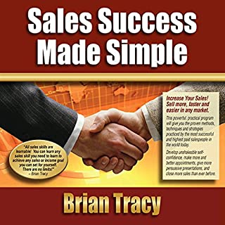 Sales Success Made Simple audiobook cover art