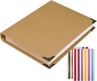 Album photo, scrapbooking Forusky 28x 22cm, style accordéon pour mariage, livre d'or, album bébé, livre d'or spécial béb...