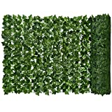 "Lvydec Artificial Ivy Privacy Fence Screen, 157"" x 59"" Artificial Hedges Fence"