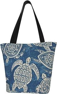 Prv0o Damen-Schultertasche mit sitzendem Elefant mit Brille und Kopfhörer, große Größe, aus Segeltuch, Hobo-Umhängetasche, Handtasche
