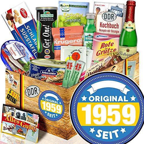 Original seit 1959 / Geschenke 60. Geburtstag / Nostalgieset Spezialitäten