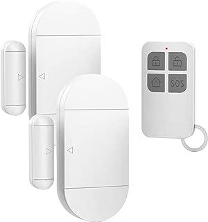 Door Window Pool Alarm,130dB Wireless Magnetic Sensor Anti-Theft Door Alarms for Kids Safety,Home Store Garage Apartment Business Security (2 Alarm Sensors + 1 Remote Control)