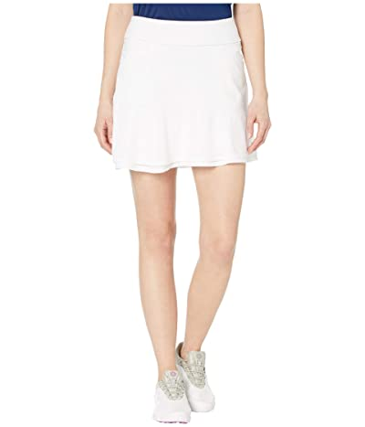 adidas Golf Ultimate365 Knit Frill Skort (White) Women