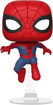 Funko – Pop.Color Marvel Animated Color Spider-Man (Bobblehead),, 34755
