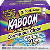 Scrub Free! Continuous Clean Toilet Cleaning Refill 2 Pack (4 Boxes of 2 Pack Refill)