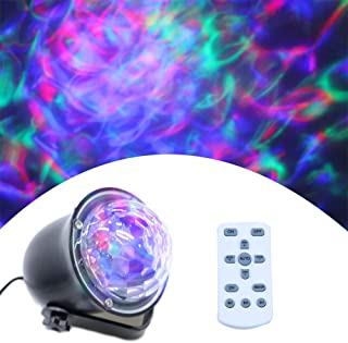 Water Wave Laser Lights Projector - Outdoor Waterproof LED Ripple Garden Lights RGBW 15 Colors Water Effect with Remote for Christmas Halloween Garden Indoor Wedding Party Holiday Disco Kids.