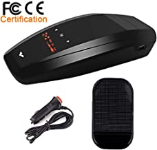 Radar Detector-Car Speed Mobile Laser Radar Detector, City/Highway Mode Radar Detectors for Cars, Sound Alert and Car Speed Alarm System with 360 Degree Detection and Bright LED Display(FCC Approved)