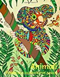 Animali: Libro da Colorare per Adulti 40 Disegni Rilassanti contro lo Stress Libri Antistress