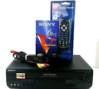 Sony SLV-N50 Video Cassette Recorder VHS 4-Head Hi-Fi VCR