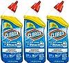 Clorox Toilet Bowl Cleaner with Bleach, Rain Clean - 24 oz, 3 Pack #1