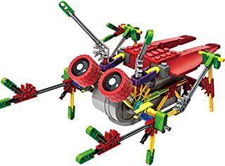 LITAND Alien Toys for Kids/Robotic Building Set/Battery Powered Robotic Kits/3d Puzzles for Kids, 122 Parts (Cicada)