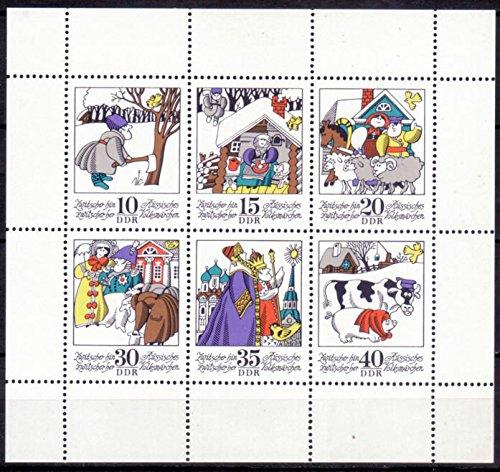 Briefmarken: DDR 1974, Mi.Nr. 1995-2000 Kleinbogen, Märchen IX, Postfrisch