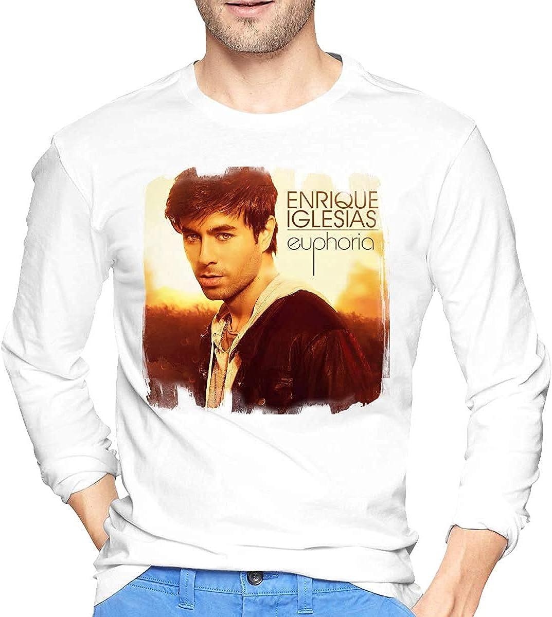 Enrique Iglesias-Enrique Men Popular Long Sleeve T-Shirt ...